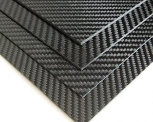 Carbon Fiber Sheets and Strips