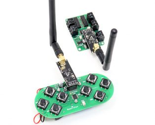 SmartElex Wireless Remote Control with NRF24L01+PA+LNA SMA Antenna
