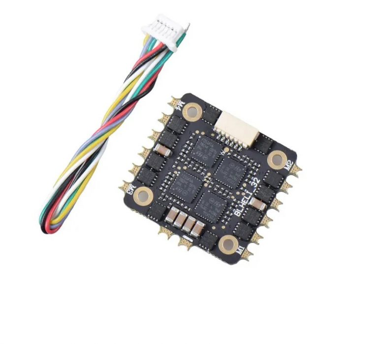 25A 2-4S BLHeli_32 4 IN 1 Brushless ESC for RC Drone FPV Racing