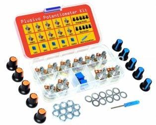 Plusivo Potentiometer Assortment Kit