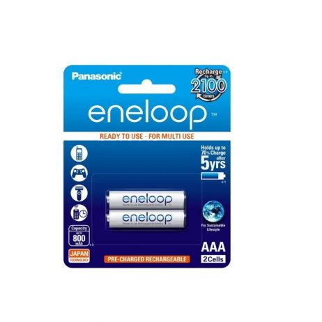Panasonic eneloop AAA BK-4MCCE/2BN Rechargeable Battery - Pack of 2