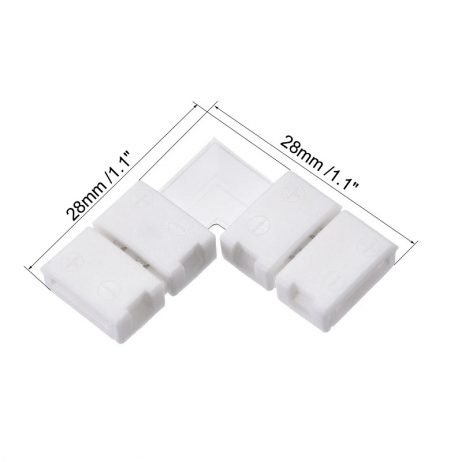 8mm LED Connector 2pin (Pack of 2)