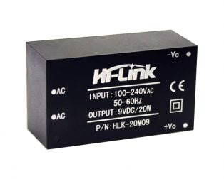 HLK-20M09 9V/20W Switch Power Supply Module