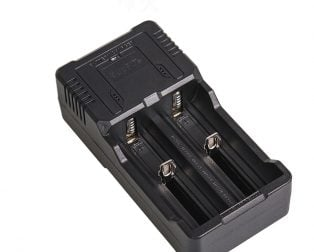 Supfire Portable Double Groove Battery Charger
