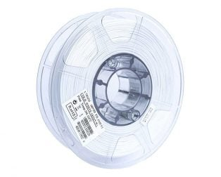 eSun ABS+ 1.75mm 3D Printing Filament 1kg-Cold White