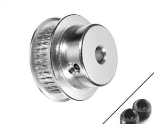 GT2-6mm Belt Width 36 teeth 6.35mm Bore Aluminium Timing Pulley