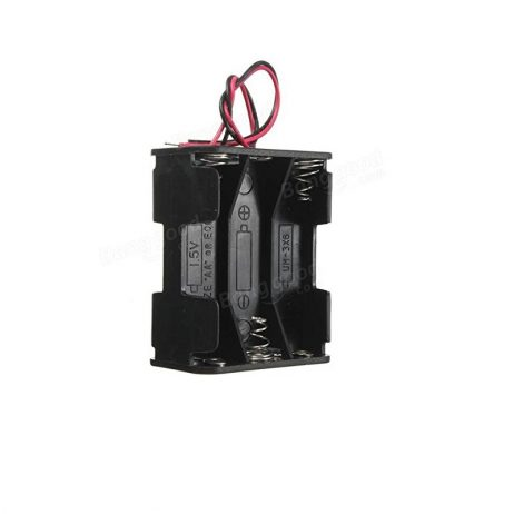 6 x AA Battery Holder Box (Back-to-Back) Without Cover