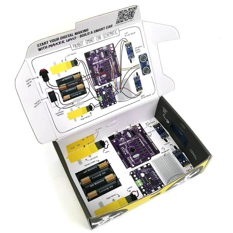 PikaBot - Maker UNO Smart Car Kit