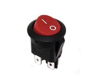 6A 250V AC DPST ON-OFF Rocker Switch