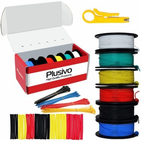 Plusivo 30AWG Hook up Wire Kit