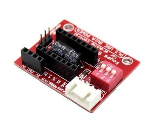 A4988 Stepper Motor Driver Controller Board- RED