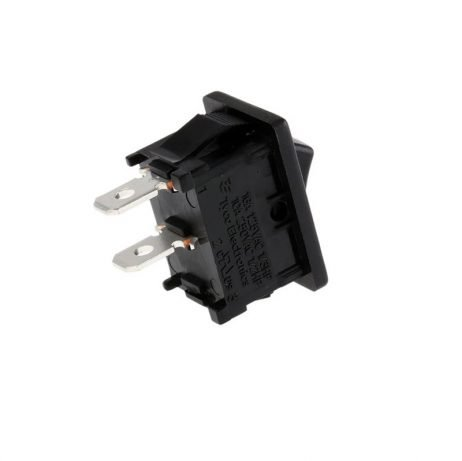 6A 250V AC SPST ON-OFF Rocker Switch