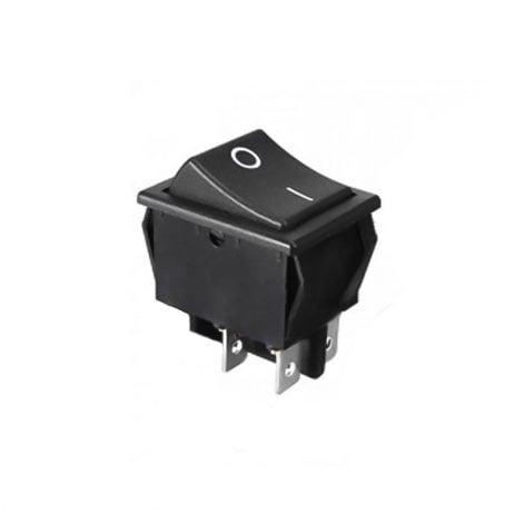16A 250V AC DPST ON-OFF Rocker Switch