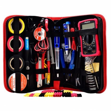Plusivo Soldering Kit with Multimeter