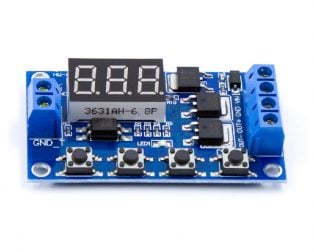 Timing Delay Switch Circuit, Double MOSFET Control Board Instead Of Relay Module 12 24V