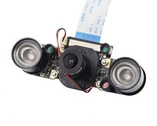 IR-Cut Camera 5 Mp Ov5647 Manually Switch Day And Night Mode Module Raspberry Pi 3 Camera with Light