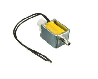 FA0520F 12V DC 2-position 3-way Small Mini Electric Solenoid Valve for Air / Gas
