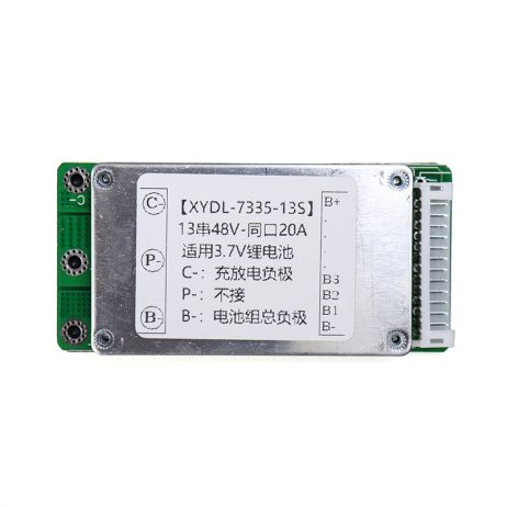 13S 48V 20A Li-ion Battery Protection Board