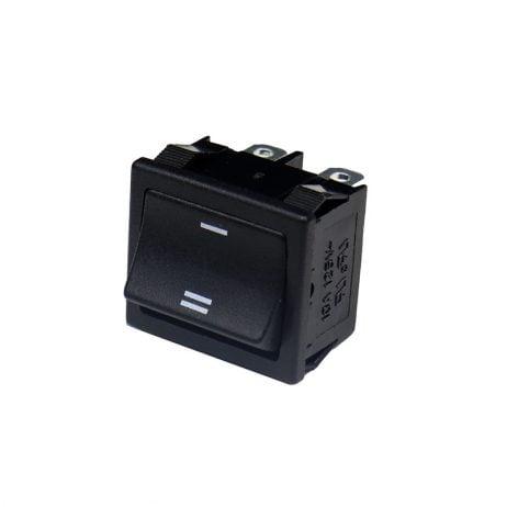 6A 250V DPST ON-OFF Rocker Switch