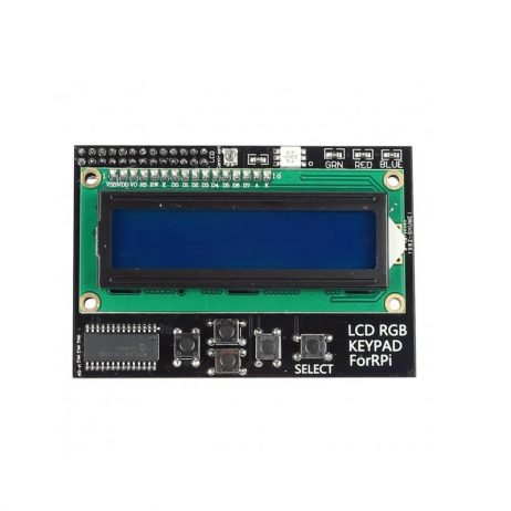 LCD1602 RGB LCD HAT with Keypad For Raspberry PI