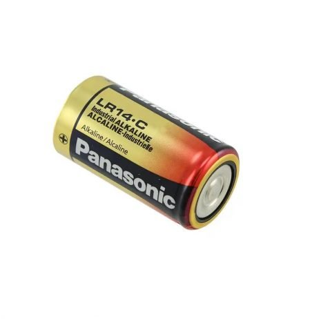 Panasonic Alkaline C-Size Battery - Pack of 2- LR-14T/2B