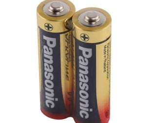 Panasonic Alkaline AA 1.5V Battery - Pack of 2