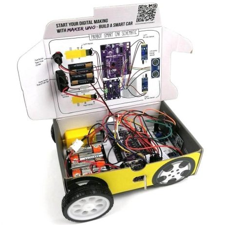 PikaBot - Maker UNO Smart Car Kit