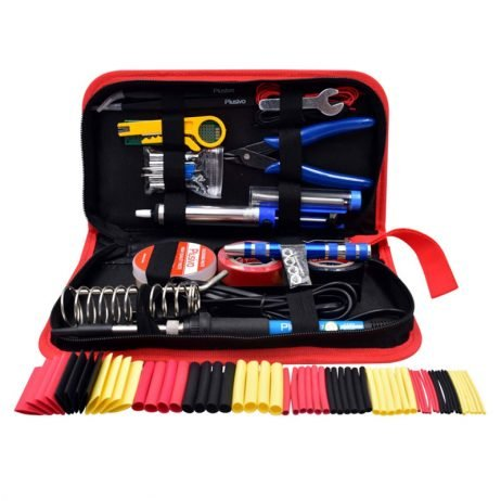 Plusivo Soldering Kit With Diagonal Wire Cutter