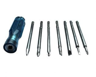 MULTITEC SDK-700 Combination Screwdriver Set (7 Bits)