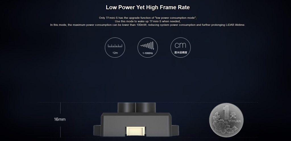 TFMini-S Micro LiDAR Distance Sensor