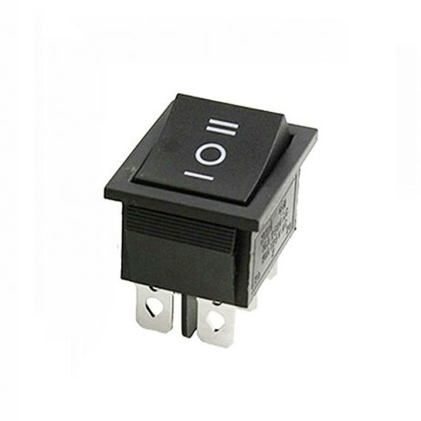 10A 250V DPDT ON-OFF-ON Rocker Switch