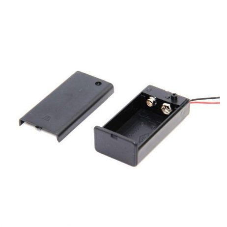 9V Cell Box, With Cover