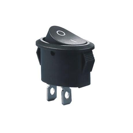 10A 250V AC SPST ON-OFF Oval Rocker Switch