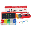 Plusivo 3mm and 5mm Diffused LED Assortment Kit with Bonus Resistor Pack