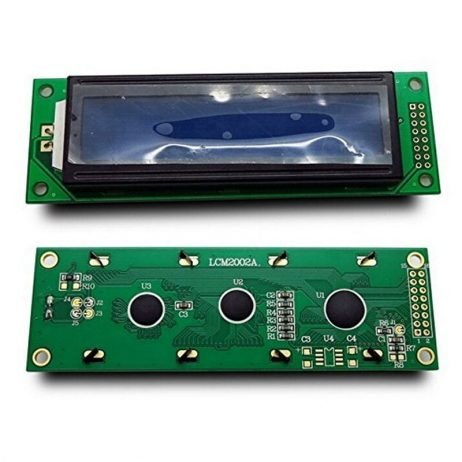 5V LCD2002 Display With Blue Backlight