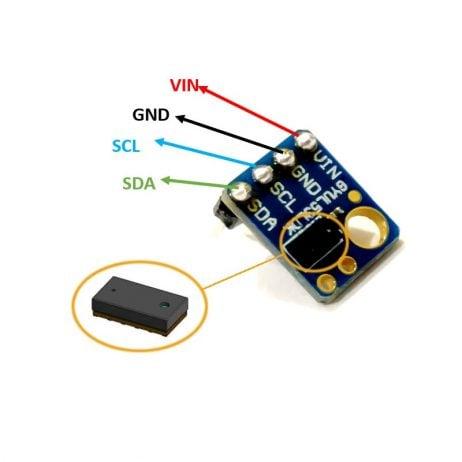 VL53L0X TOF Based LIDAR Laser Distance Sensor