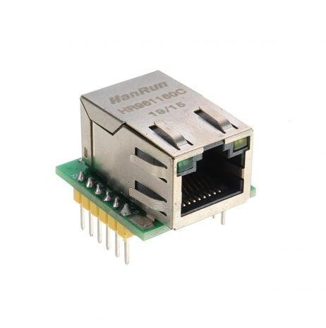 W5500 TCP IP SPI to LAN Ethernet Interface