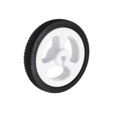 34mm Mini Car N20 Motor Wheel Rubber Small Wheel