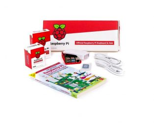 Raspberry Pi 4 Desktop Kit with Official Raspberry Pi Beginner's Guide Book