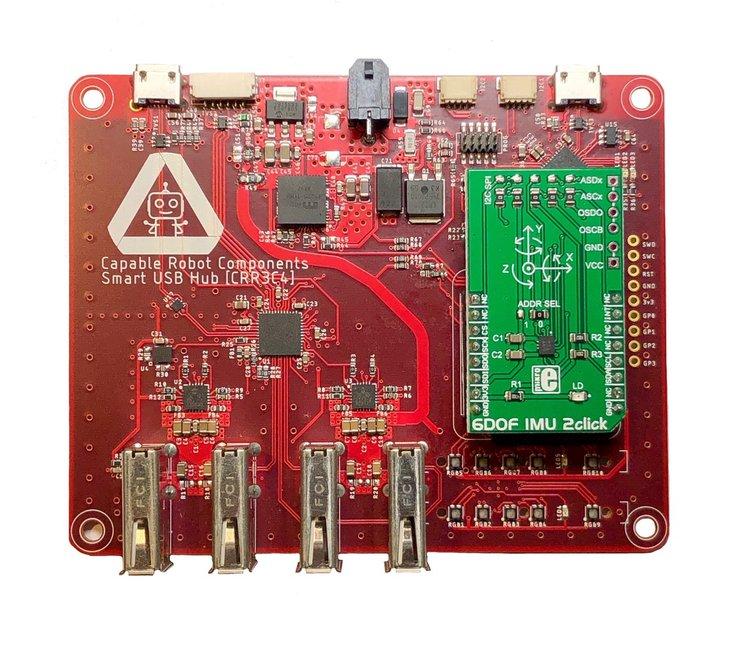 Programmable usb hub