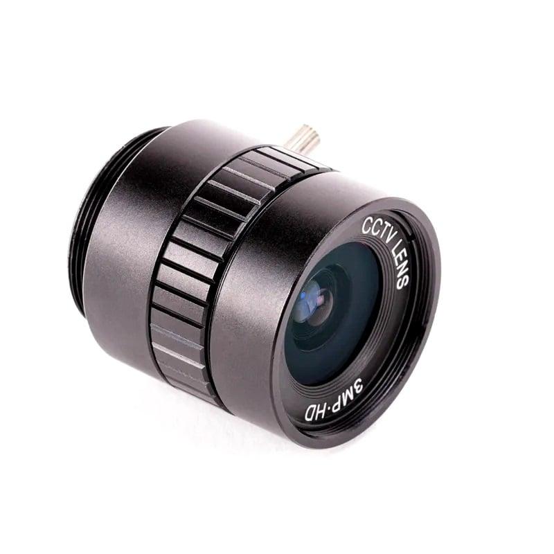 6mm Wide Angle Lens for Raspberry Pi High Quality Camera