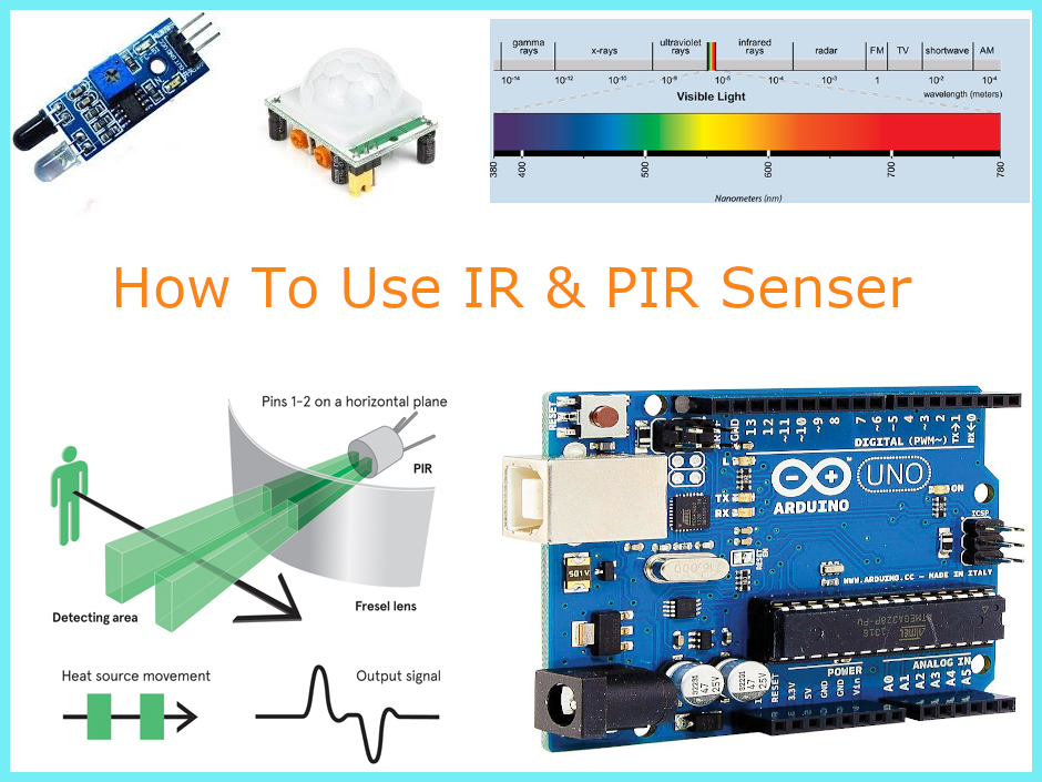 PIR IR sensor with arduino raspberry pi