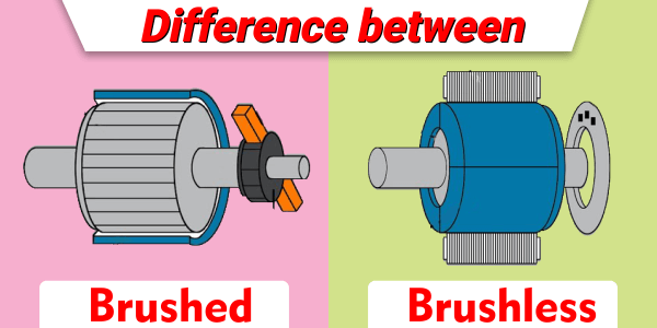 Difference between Brushed and Brushless DC motor