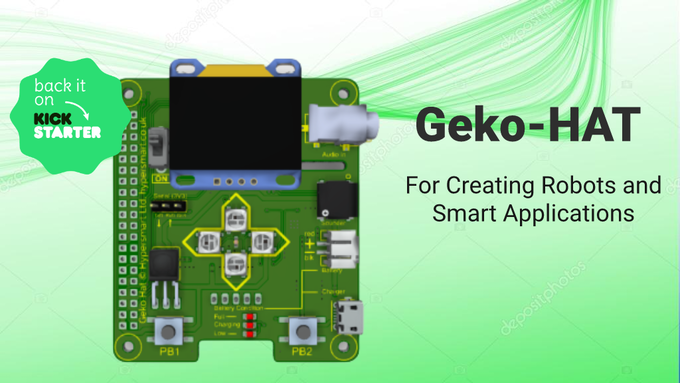 Geko-HAT Raspberry Pi HAT