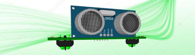 Geko-HAT ultrasonic and line sensor