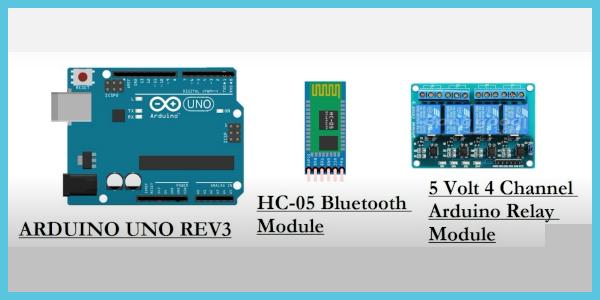 Arduino HC-05 relay