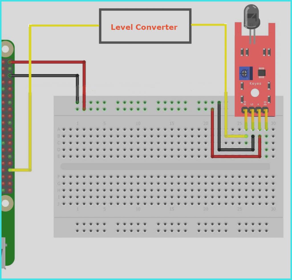 IR sensor with raspberry pi