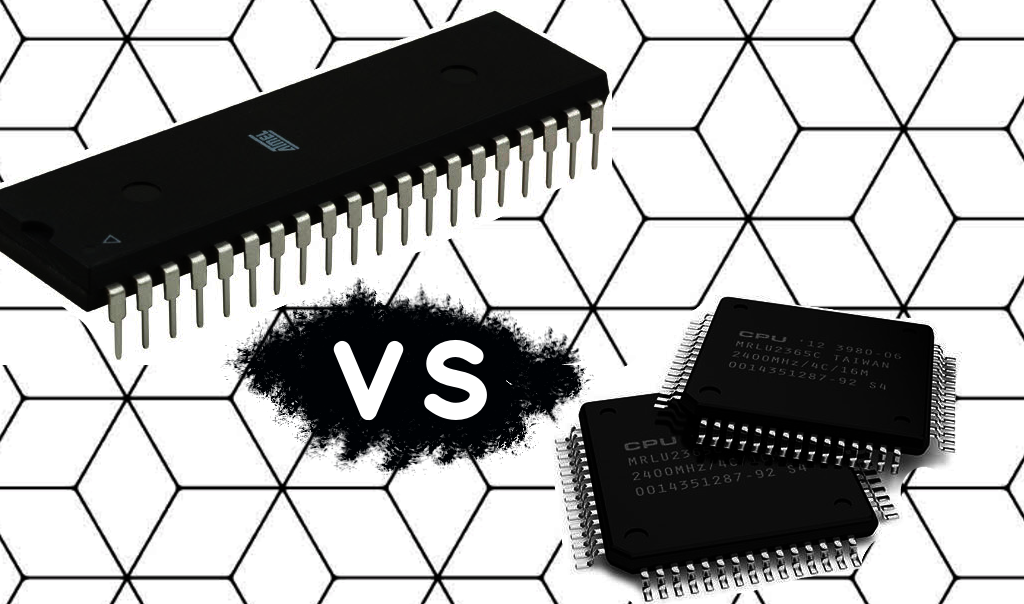 microcontroller vs microprocessor thumb