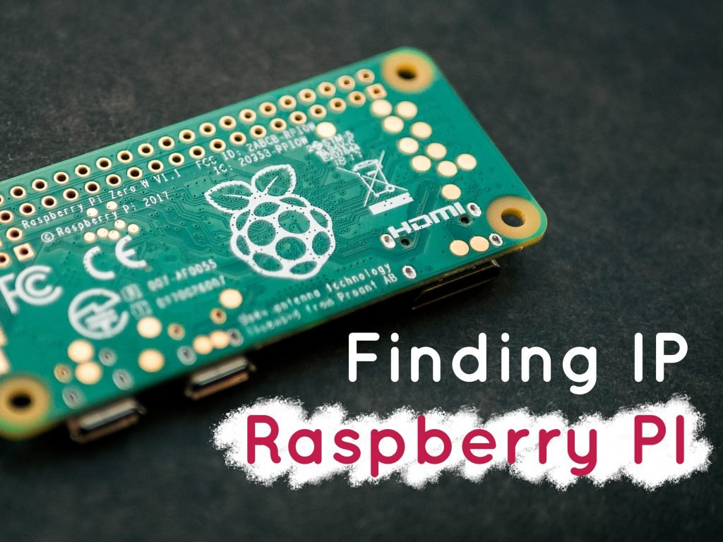 finding ip address raspberry pi