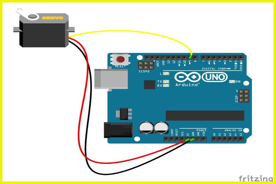 Arduino With Servo